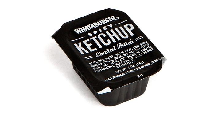 Whataburger Ketchup Tub Design Mcgarrah Jessee