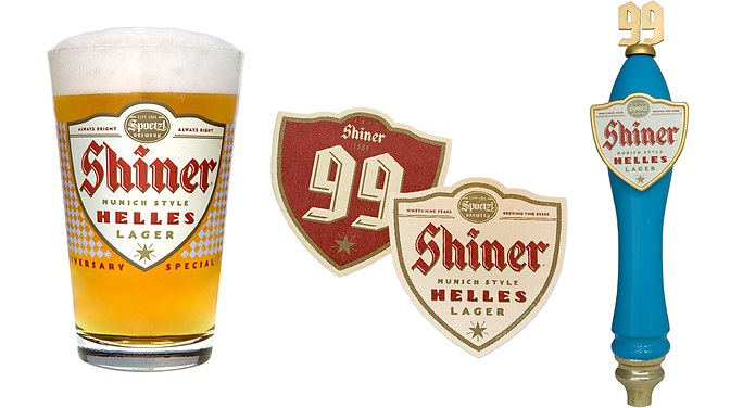 Shiner 99 Helles Lager Point Of Sale Mcgarrah Jessee