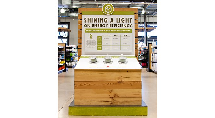 Treehouse In Store Display Shining A Light Mcgarrah